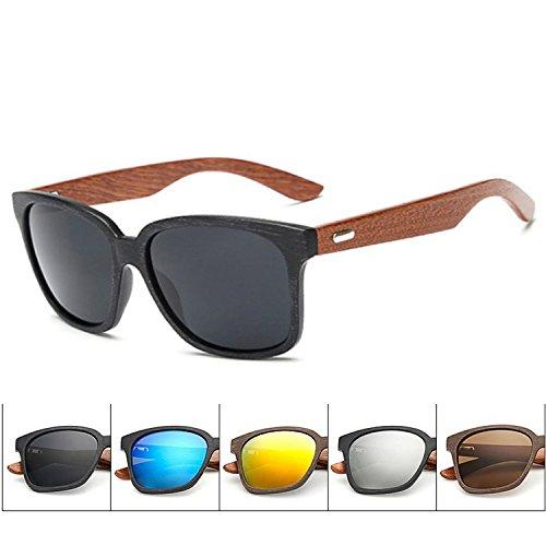 Wooden Frame Sunglasses Unisex Wood Foot Men Goggles uv405 Sunglasses