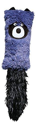 KONG Cat Cozie Kickeroo Catnip Toy Purple Racoon