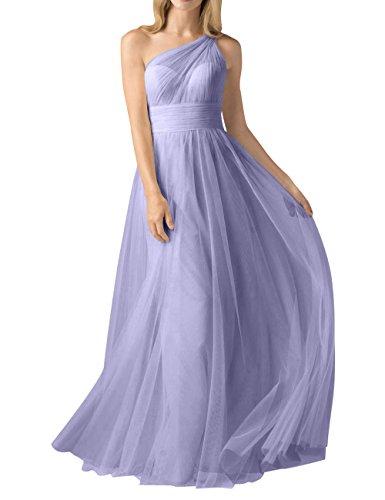 Kleider Abendkleider La Rock Partykleider mia Ein Jugendweihe Brau Bodenlang Traeger Linie Brautjungfernkleider A Lilac Ballkleider wxB1gqxX