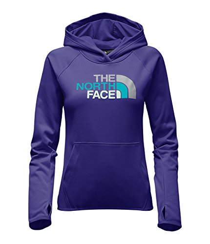 The North Face Womens Fave Half Dome Pullover Hoodie WZGBRIGHTNAVY/GREY L