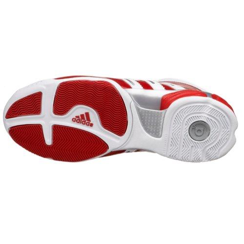 Scarpe Da Basket Adidas Mens A3 Pro Team 2 Da Corsa Wht / Univ Red