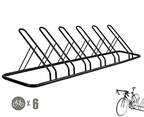 CyclingDeal 1-6 Bike Floor Parking Rack Storage Stand Bicycle
