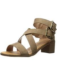 Women's Havarti Casual Buckle Block Heel Sandal