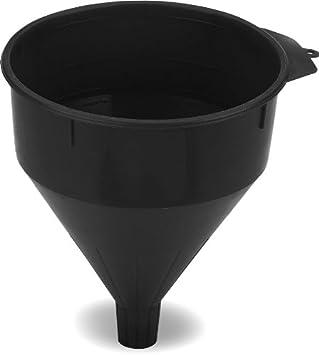 Lumax LX-1608 Black 6 Quart//12Pint Plastic Funnel