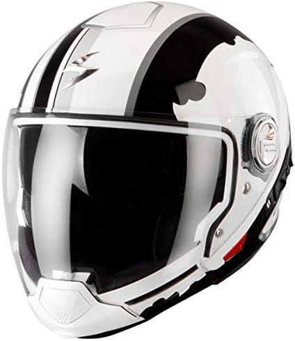 Scorpion Exo 300 Air Gunner Xs 53 54 White Black Auto