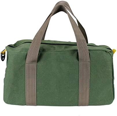 [スポンサー プロダクト]Nerhaily ツールバッグ 工具差し入れ 道具袋 工具バッグ 大口収納 12インチ/14インチ/16インチ 3サイズ選択可 緑【純正品】