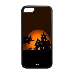 Fashion Protector Happy Halloween Back Hard Cover Case For iPhone 5c