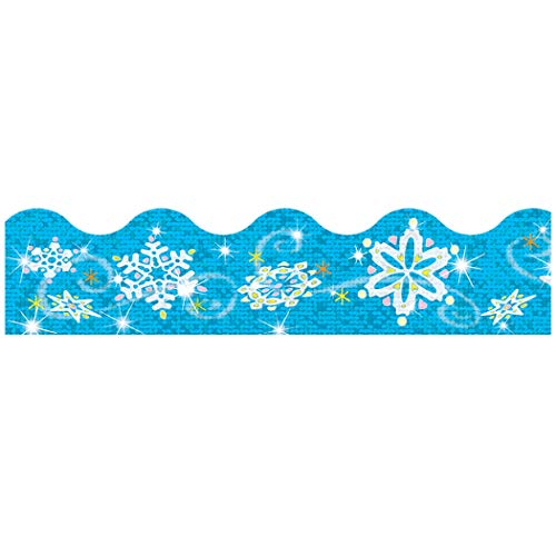 - TREND enterprises, Inc. Snowflakes Sparkle Plus Terrific Trimmers, 32.5 ft
