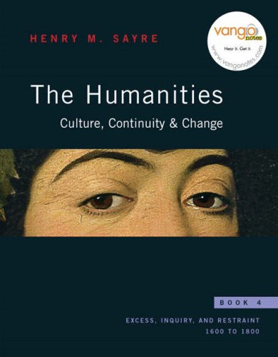 The Humanities: Culture, Continuity, and Change, Book 4