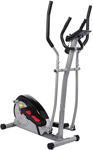 no bland Elliptical Cross Trainer Exercise Bike-Fitness Cardio Weightloss Workout Machine-With Seat