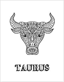 Taurus: Coloring Book with Three Different Styles of All ...
