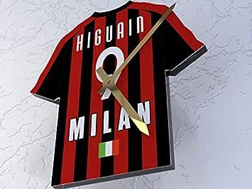 AC Milan FC Fútbol club – Camiseta de fútbol reloj – cualquier nombre y cualquier número