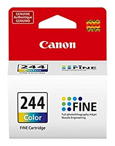 CanonInk CL-244 Canon Color Ink Cartridge, Compatible to MG3020/MG2525 Ink by Canon Ink