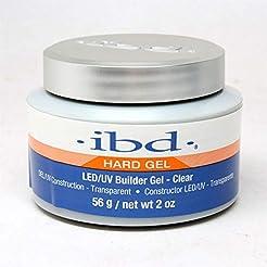 IBD LED/UV Gels Builder Gel Clear, 2 oz
