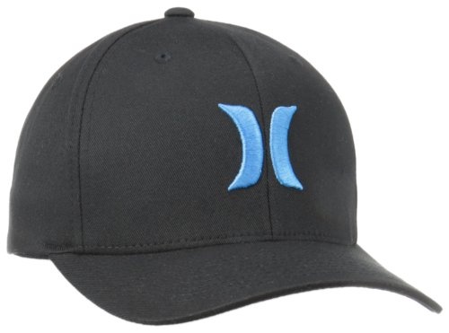 Hurley Men's One and Only White Hat, Black Cyan, Small/Medium ()