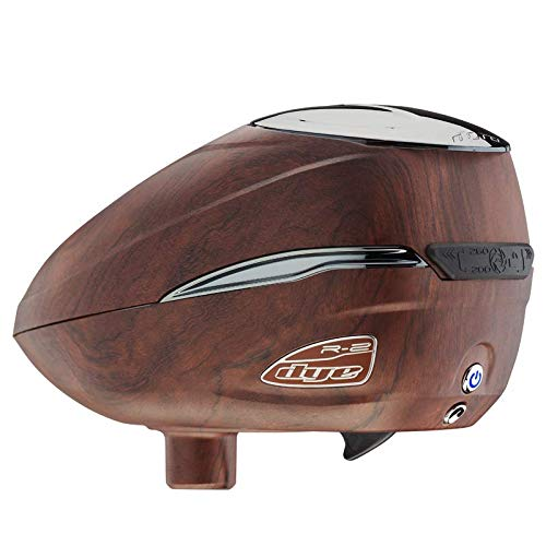 Dye R2 Electronic Paintball Loader (Woody) by Dye