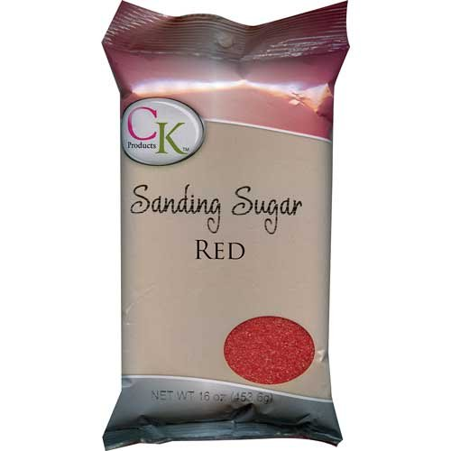Ck Products Sanding Sugar - CK Products No.1 Sanding Sugar, Red