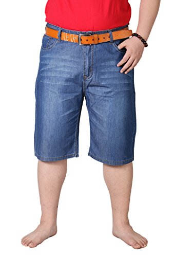 OUCHI Men Plus Size High Big Tall Chill Wash …