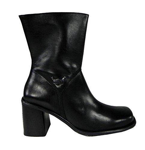 Harley Womens Spontaneous 7 Black High Heel Boots FPewt4FK