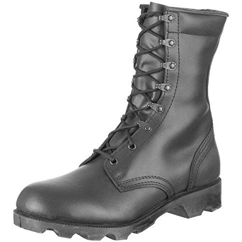 Army vitesse en cuir Noir/Stéphanie cargo militaire homme Coupe haute-bottes-Taille 5