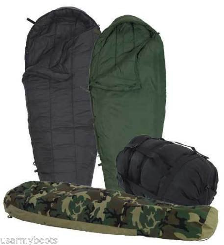 Us Military 4 Piece Modular Sleeping Bag Sleep System W/gortex Bivy - Excellent by Eternity888 USA