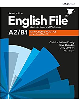English File 4th Edition A2/B1. Students Book and Workbook with ...
