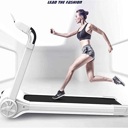 YFFSS Running Machines Folding Electric Portable Treadmill Low Noise Jogging Walking Running Machine Exercise Treadmill with Bluetooth Speaker for Home Gym Exercise Fitness 4