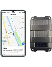 GPS Tracker-4G Portable Device- Real Time Tracking -Free Installation- 5000mAh Battery Suitable for Car Owner and Car Rental, Loan Vehicles, Fleet Management, Transport Industries