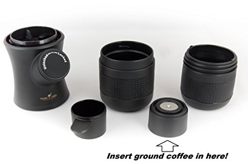 Young Camel Merchants Portable Coffee Maker - Great for hikes, camping, or anytime on the go!! [Free Spinner w/ your order, while supplies last!]