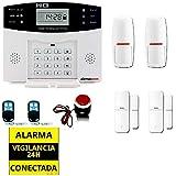 ☆ALARMAS PARA CASAS SIN CUOTAS GSM AZ028. Facil de instalar ...