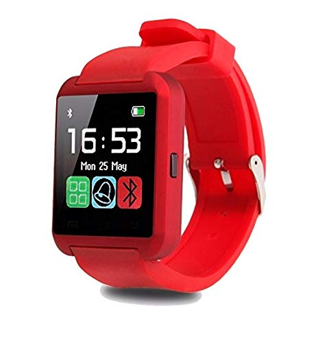 a74ab3cff3e9 Smartwatch U8 Color Rojo Bluetooth Reloj Inteligente - Compatible iOS    Android