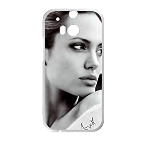 Angelina Jolie Cell Phone Case for HTC One M8
