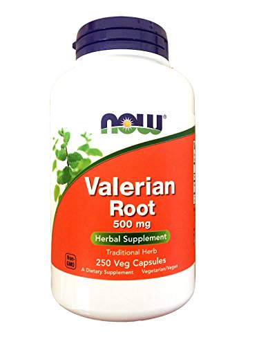 NOW Valerian Root 500mg Capsules