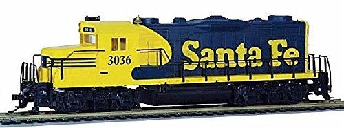 (Mantua 414101 HO Santa Fe EMD GP20 Diesel Locomotive Sound/DCC #3036)