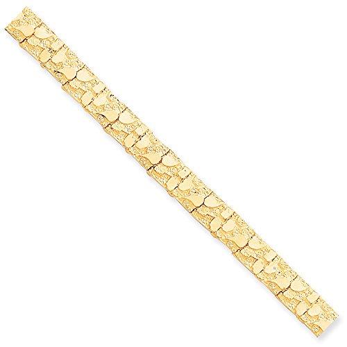 Jewelry Bracelets Nugget Bracelets 10k 10.0mm NUGGET Bracelet