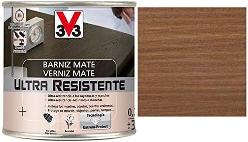 BARNIZ INTERIOR V33 NOGAL: Amazon.es: Bricolaje y herramientas