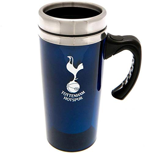 Tottenham Hotspur FC Aluminum Travel Mug (One Size) (Blue) ()