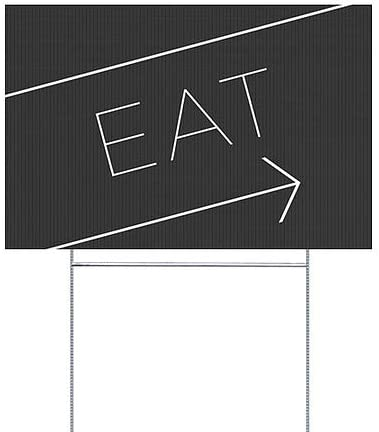 18x12 Seasonal Sale Modern Gradient Double-Sided Weather-Resistant Yard Sign 5-Pack CGSignLab