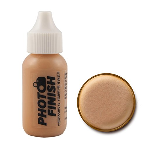 Photo Finish Airbrush Makeup – Foundation-1.0 Oz Cosmetic Face- Choose Color (Medium Matte)