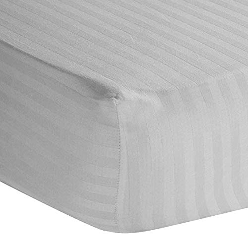 Luxurious Collections 1 PC Fitted Sheet Extra Long Fit Upto 20