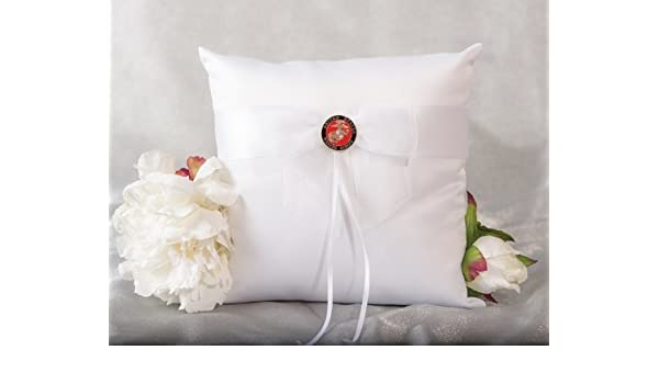 Amazon Military Wedding Ring Bearer Pillow Air Force Navy