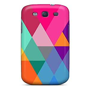 Fashionable Style Case Cover Skin For Galaxy S3- Fractals