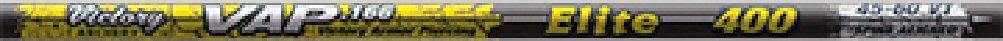 Victory Archery VAP Elite Shafts (Pack of 12), 500, Black