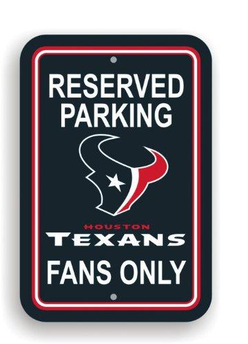 Fremont Die NFL Houston Texans Plastic Parking Sign