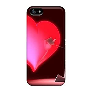 Mialisabblake Case Cover Protector Specially Made For Iphone 5/5s 3d Love Paint