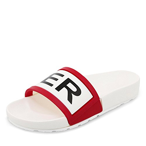 Logo Da Cacciatore Con Logo Regolabile Originale Da Cacciatore - Pantofole Rosso / Bianco / Nero