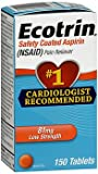 Ecotrin 81 mg Low Strength Safety Coated Aspirin - 150 Tablets, Pack of 2