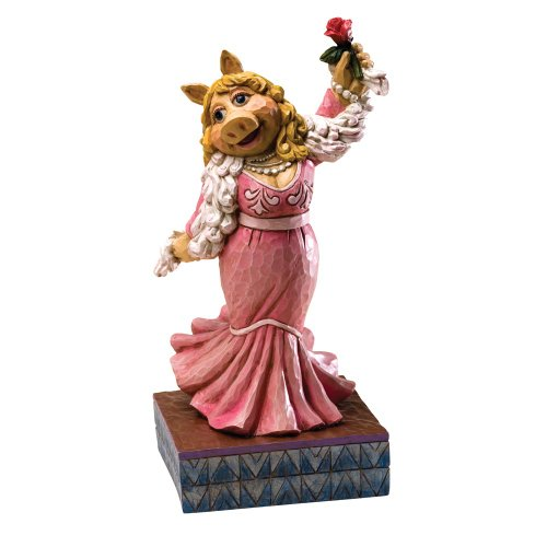 Enesco Disney Traditions Designed by Jim Shore Miss Piggy (The Muppet Show) Figurine 7.5 in