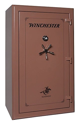 Winchester Silverado 51, 48 Gun Capacity Gun Safe- Saddle Brown Dial