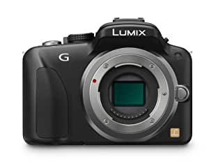 Panasonic LUMIX DMC-G3 16 MP Micro Four-Thirds Interchangeable Lens Camera with 3-Inch Touch Screen LCD (Body Only)